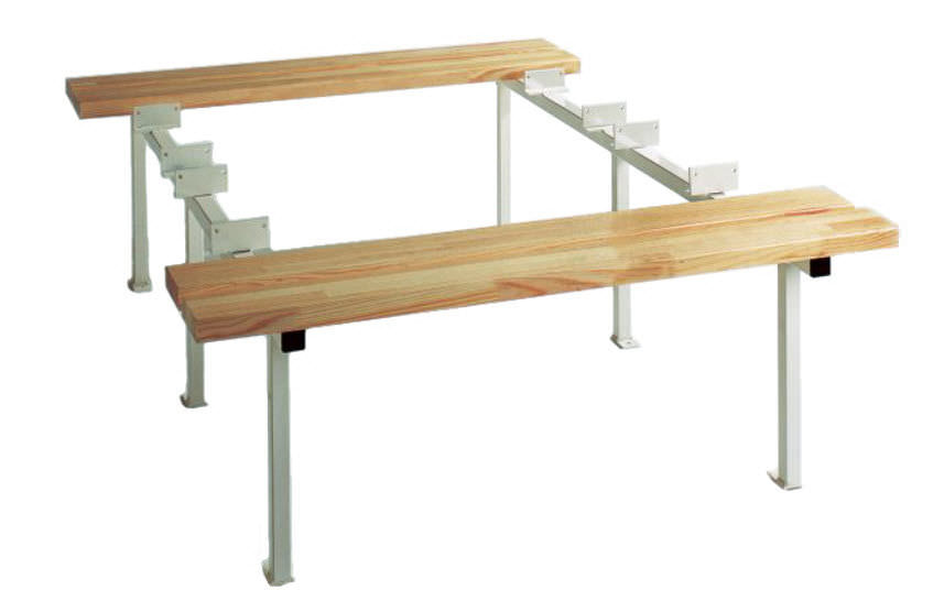 Bench for locker room - 227.12 - FRANCE EQUIPEMENT