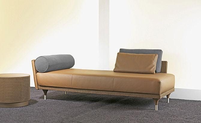 Contemporary daybed - TAO - MMV Möbelmanufaktur Viersen