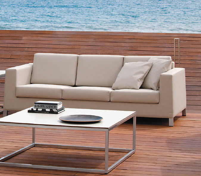 Contemporary garden sofa - SENSATIONS : JAZZ - POINT