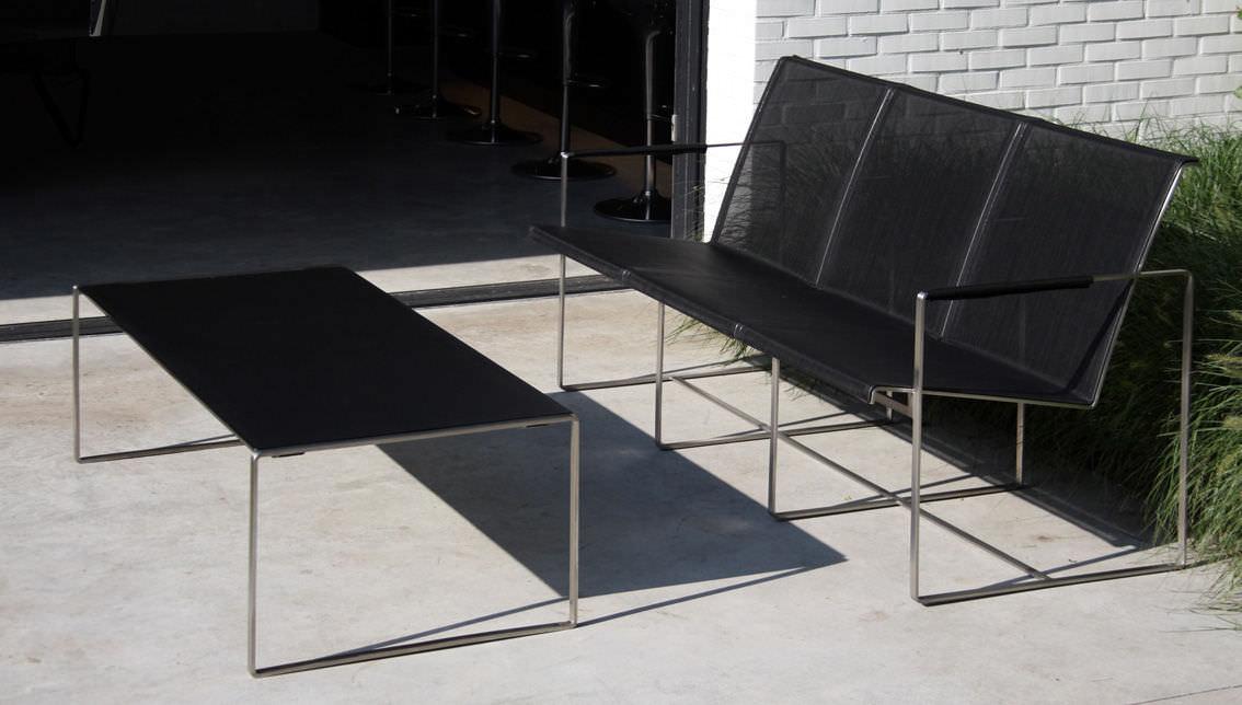 Contemporary garden sofa - POLTRONA TRES - FueraDentro