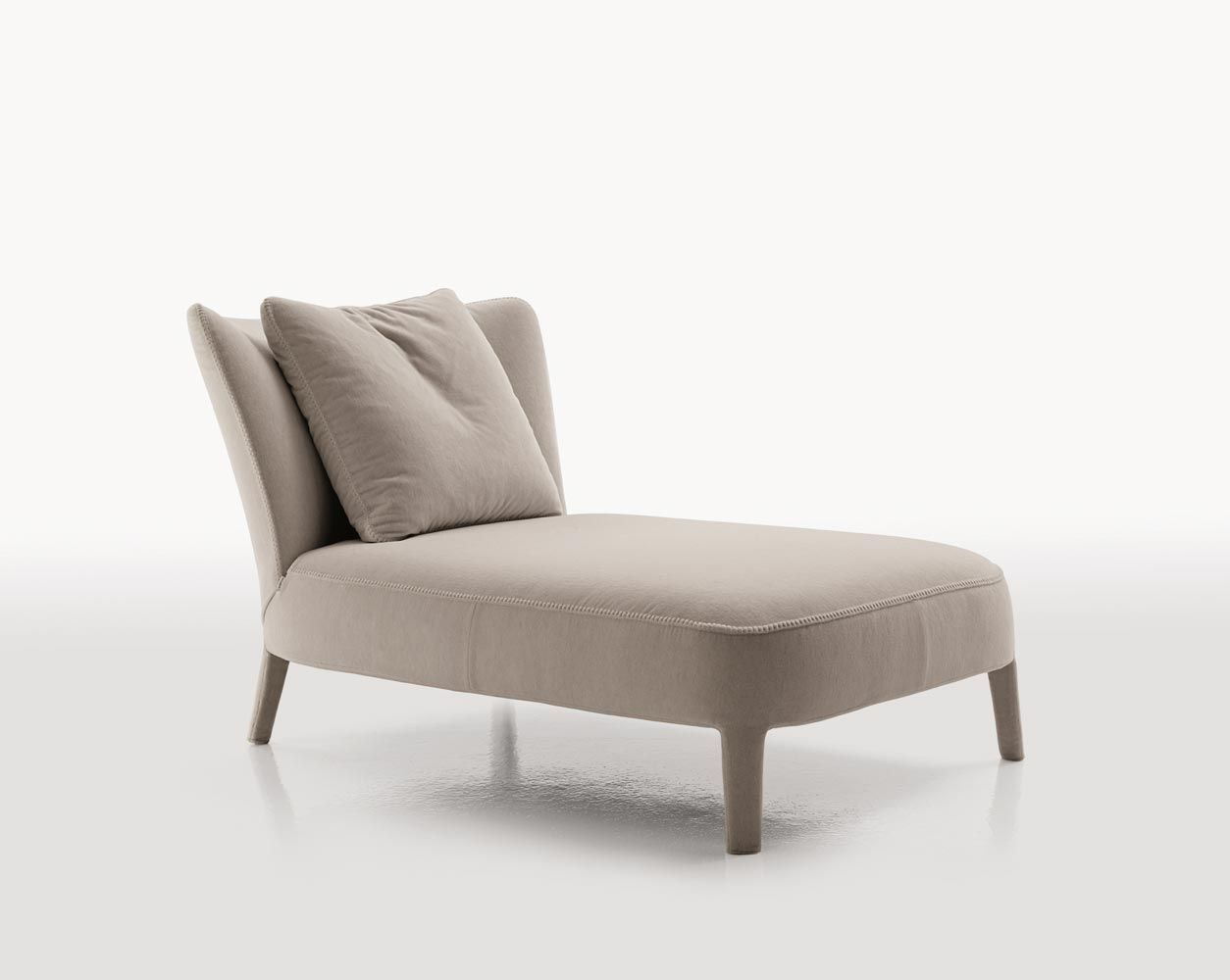 Contemporary lounge chair by Antonio Citterio - FEBO - MAXALTO