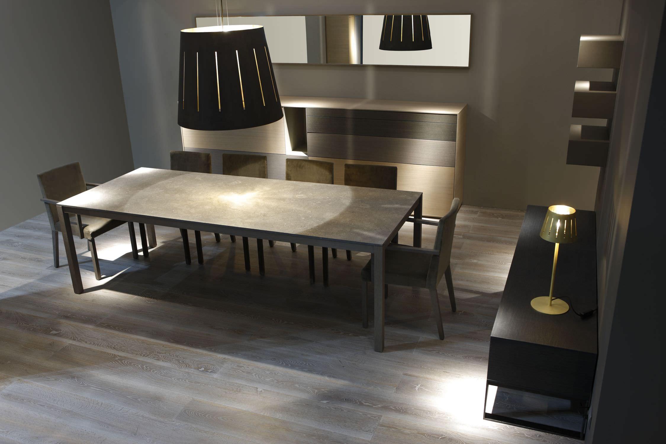 Contemporary marble table - ALTERNATIVE - MOBIL FRESNO
