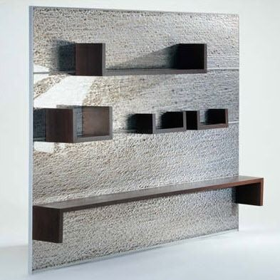 Contemporary shelf for wall panel - PARETE by Coro - CORO