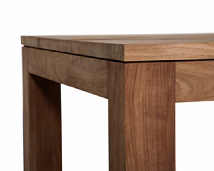 Contemporary solid wood dining table - 12049 - Studio emorational