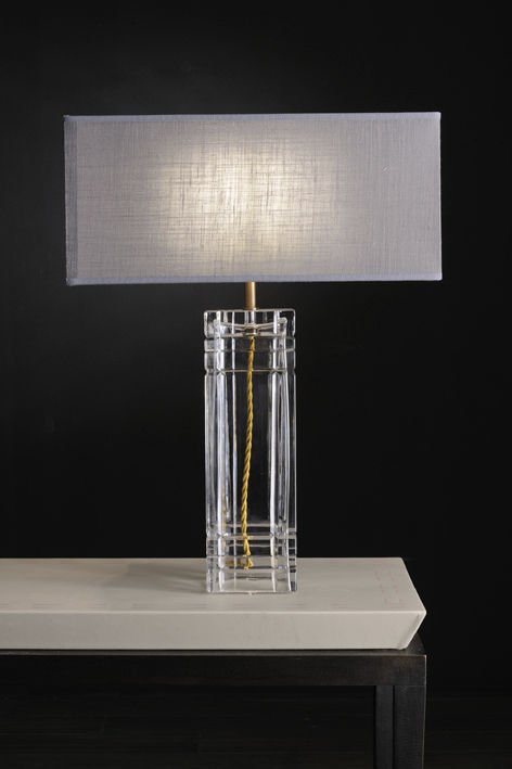 Contemporary table lamp (glass) - EVA - Bellavista Collection