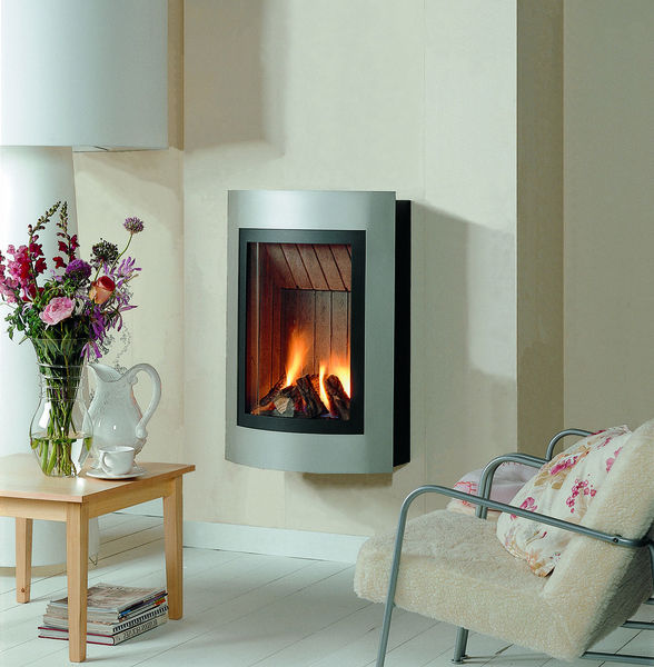 Contemporary wall mounted gas stove - HI-FIRE: LIGERO - ThermoCet BV