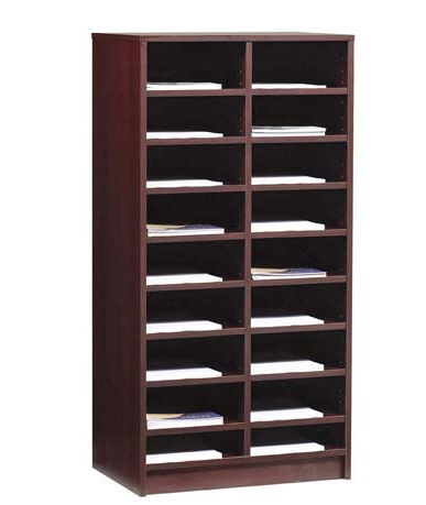 Contemporary wooden modular shelf - DBC16-2448 - Office Furniture ...