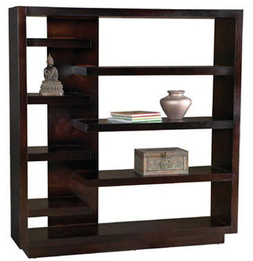 Contemporary wooden shelf - AVANT GARDE - LEDA Furniture