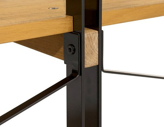 Contemporary wooden shelf - HIJI - INCH FURNITURE