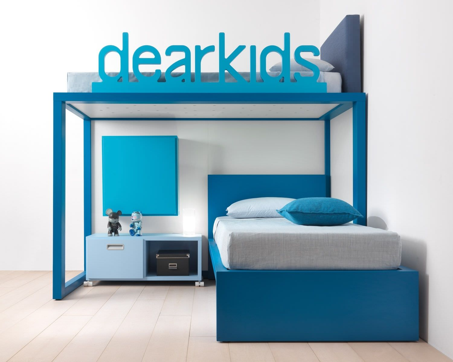 Corner bunk bed / boy's / for kids - . - Dear snc dei F.lli Pozzi