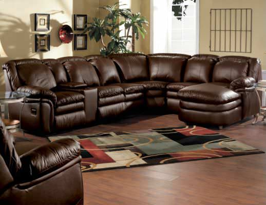 reclining leather sofas