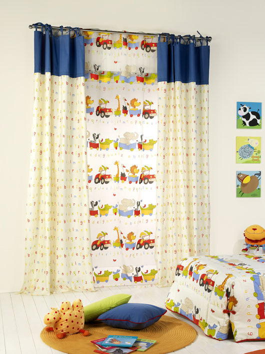 Curtain for kids room (boys) - ZOO - RIOMA