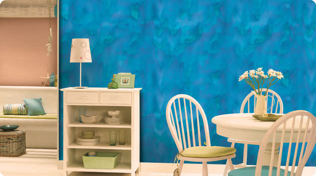 Decorative effect paint - ROYALE PLAY CANVAS - ASIAN PAINTS