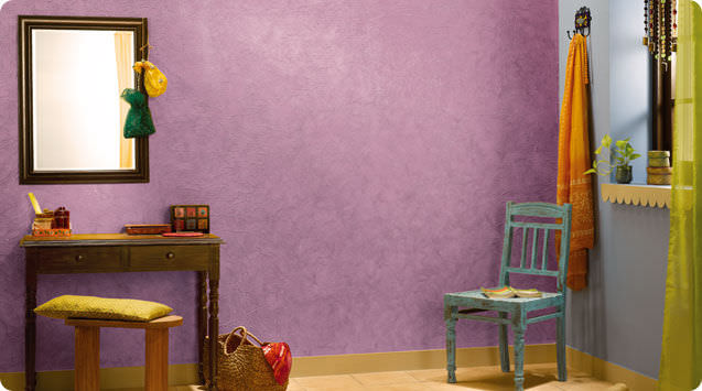 Decorative effect paint - ROYALE PLAY CRINKLE - ASIAN PAINTS