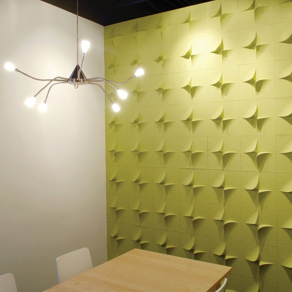 Decorative wall panel in recycled cardboard - V2 by using Jaime Salm - MIO - Cardboard Wall Panels Patterns