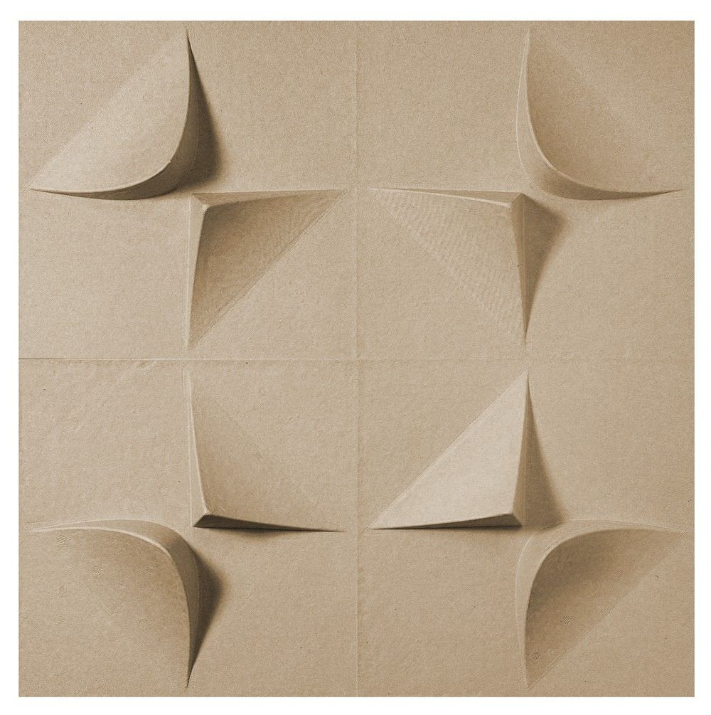 Decorative wall panel in recycled cardboard - SAMPLES by Jaime ...