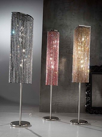Design crystal floor lamp - RAINBOW - Classic Light