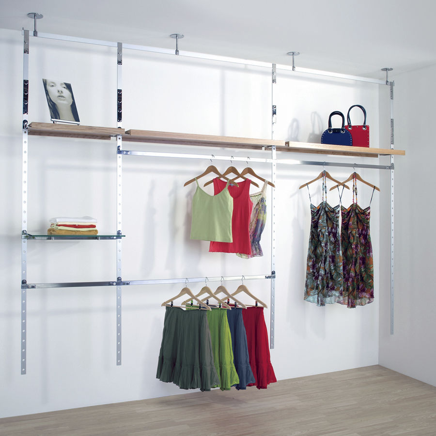 Clothing store display, clothing display, lingerie racks, island shelf, shelving