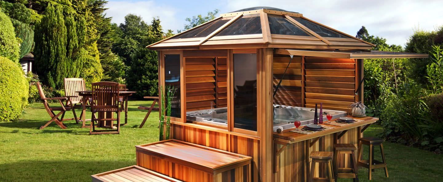 hot tub gazebo plans online