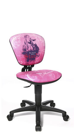 Kids office chair (girls) - HIGH POWER - Topstar