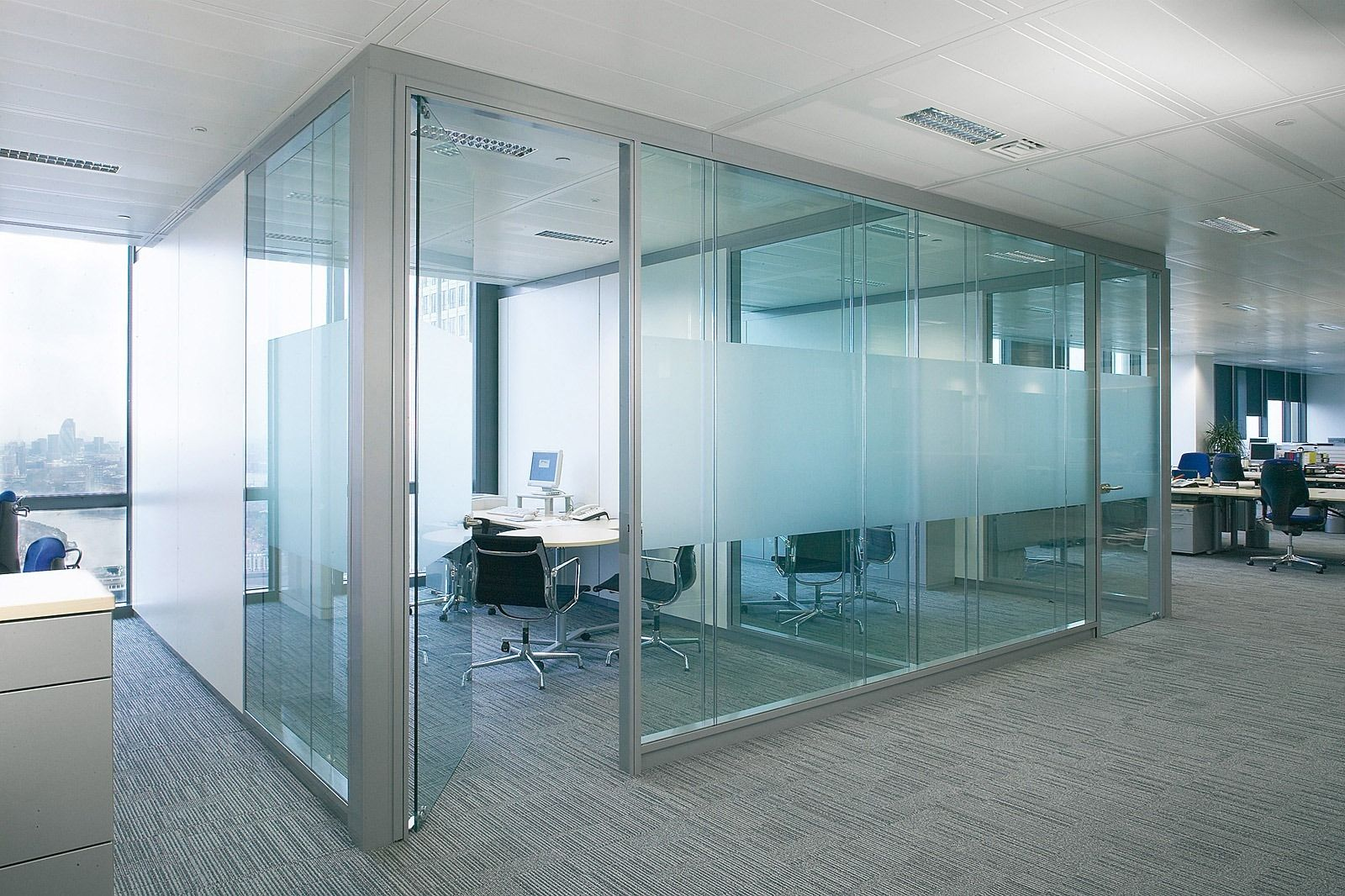 Glass Partition Walls Interior Design Ideas