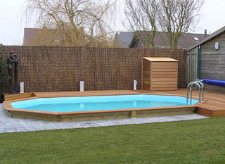 Semi Inground Swimming Pool Designs radiant 14x22 semi inground freeform with pavers Semi Inground Pool Designs Pools Backyards Pinterest Pools Pool Designs And Results