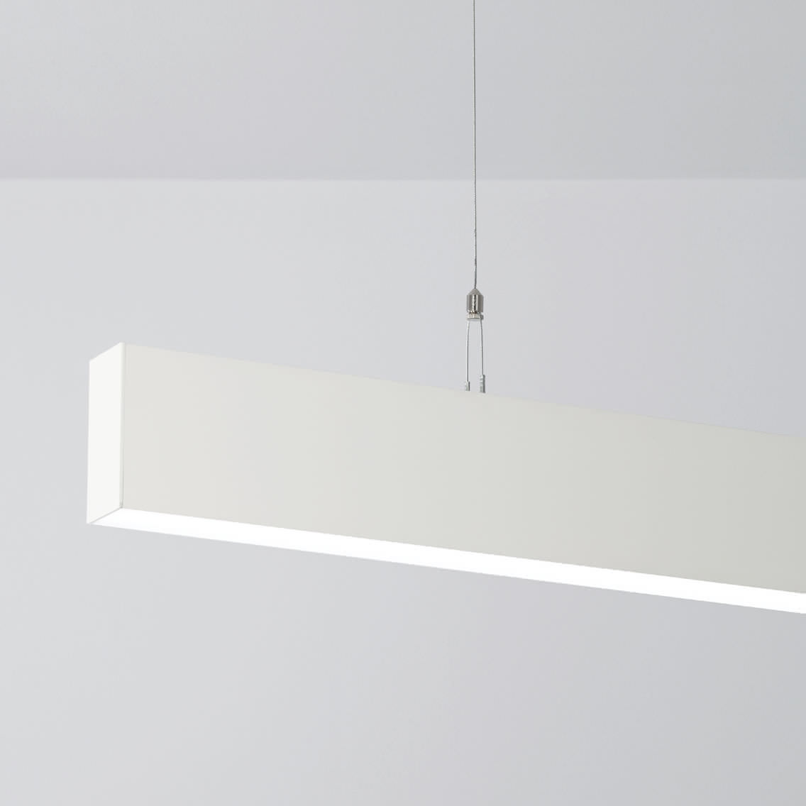 beautiful suspended light fixture with suspended fluorescent light