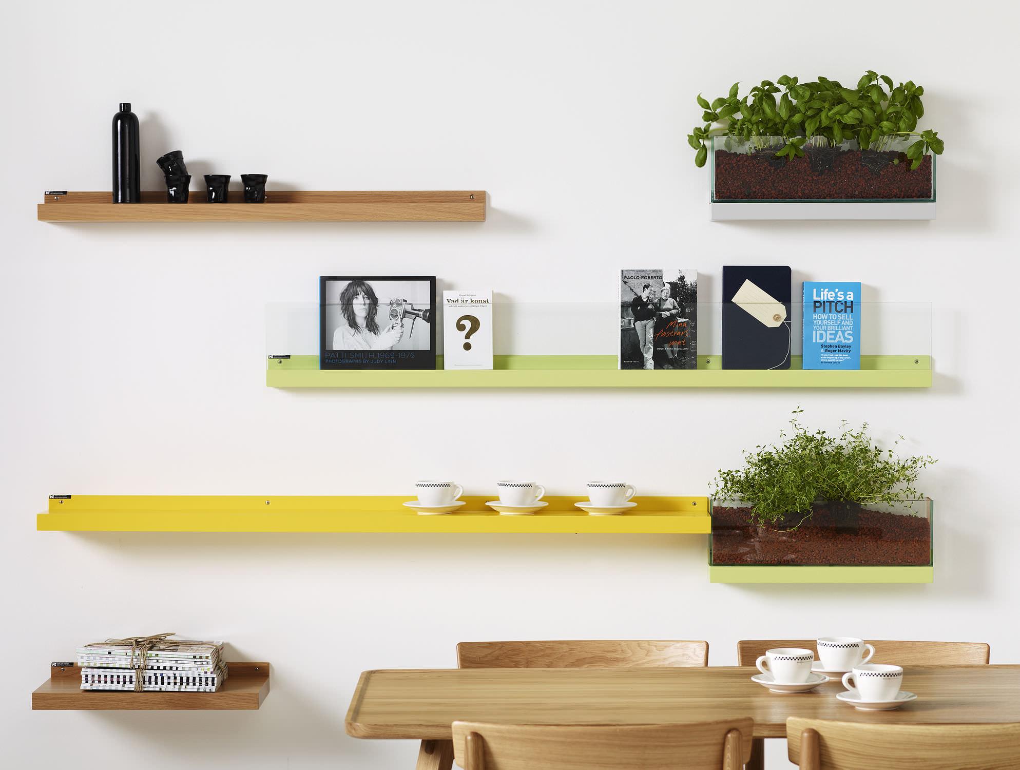 Wall mounted shelf contemporary 58467 5475593