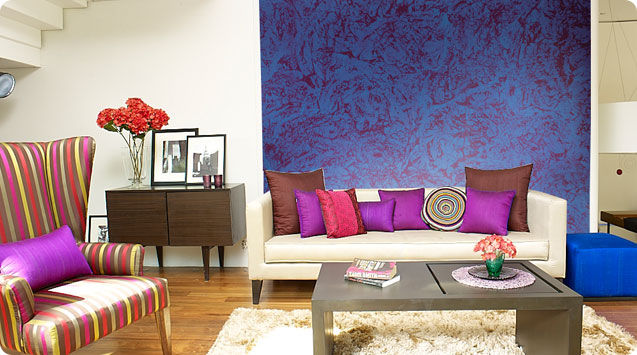 Wall paint / effect - ROYALE PLAY DAPPLE - ASIAN PAINTS