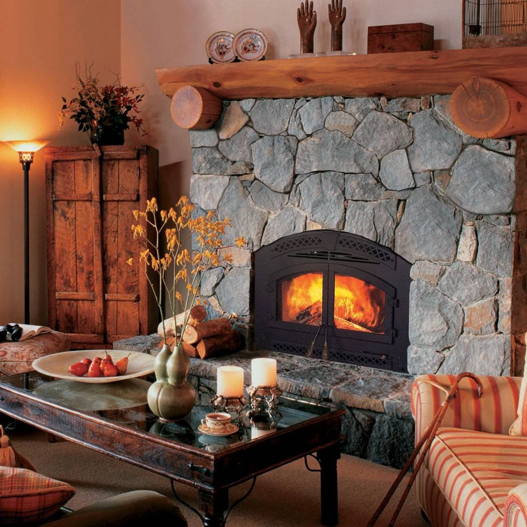 Bonita portada invernal Wood-burning-fireplaces-closed-hearth-traditional-11657-2106375