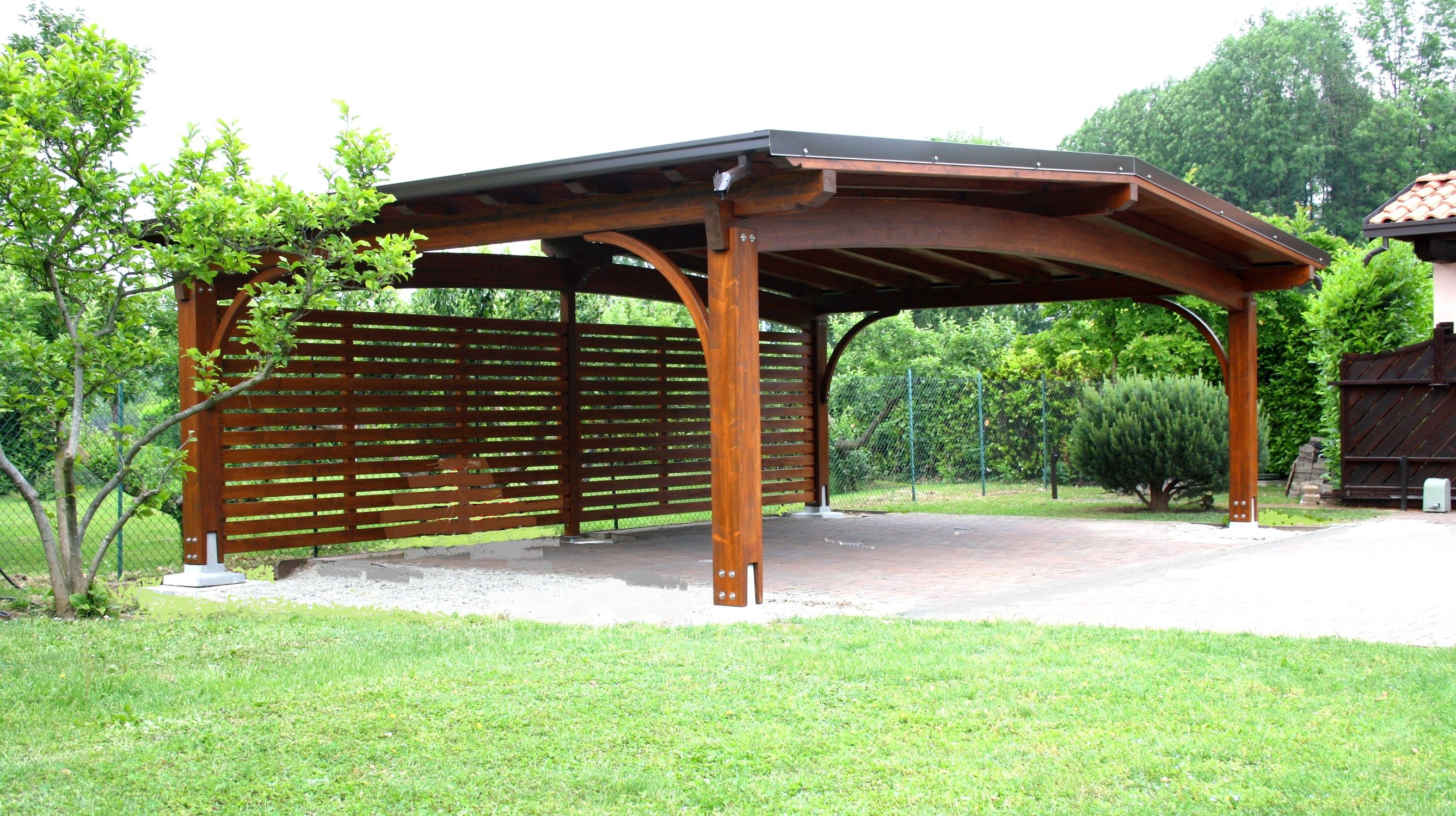 Wooden carport - ARCO - Gazebodesign