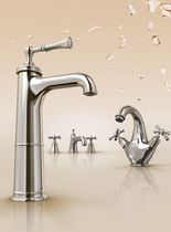 1 hole washbasin double handle mixer tap LIGHTHOUSE Ideal Standard