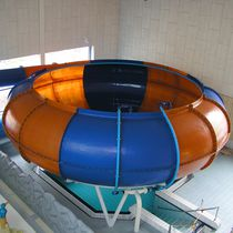 Curved slide / for aquatic parks / tube