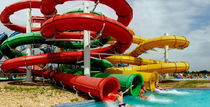 Curved slide / for water parks / tube
