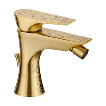 Bidet mixer tap / metal / bathroom / 1-hole