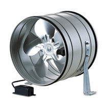 Axial fan / duct / commercial / steel