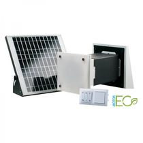 Decentralized heat recovery unit / residential / for homes