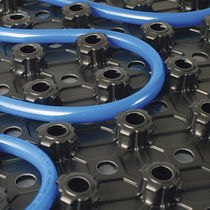 Hot water underfloor heating / residential / reversible