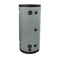 Floor-mounted hot water cylinder / wall-mounted / residential