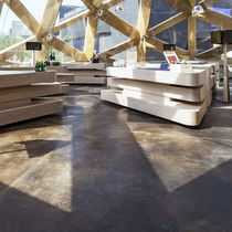 Self-leveling flooring / polypropylene / concrete / commercial