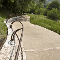 Concrete flooring / for public spaces / other formats / textured