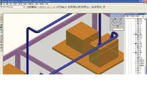 CAD software / management / for hydraulic and thermal installations / 3D