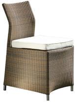 Contemporary garden chair / resin wicker