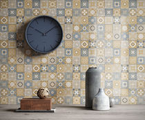 Indoor tile / wall / ceramic / plain