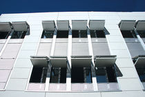 Perforated aluminum solar shading / facade
