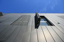 Metal solar shading / facade / perforated