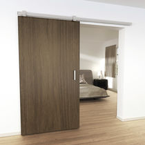 Metal sliding door system