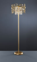 Floor-standing lamp / classic / metal / glass