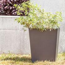 Metal garden pot / trapezoidal