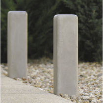 Security bollard / concrete / luminous